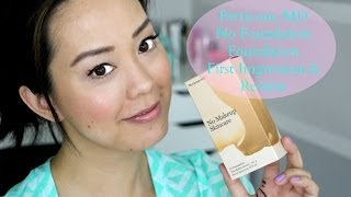 getlinkyoutube.com-NEW Perricone MD No Foundation Foundation Serum First Impression #TesterTuesday | DressYourselfHappy