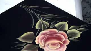 getlinkyoutube.com-Pinceladas Decorativas: La Rosa