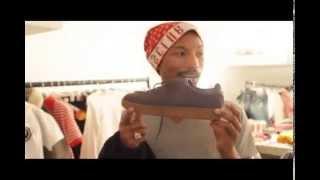 Pharrell photoshoot de BBC en angleterre