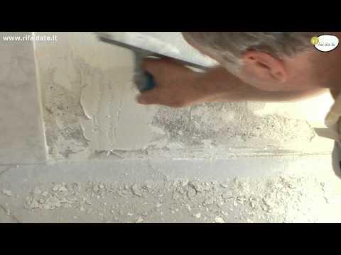 Come imbiancare una parete che presenta umidit tutto - Muffa sui mobili ...