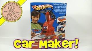 getlinkyoutube.com-Hot Wheels Car Maker Set - Create Your Own Hot Wheels Cars