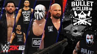 getlinkyoutube.com-WWE Bullet Club Invasion on RAW - WWE 2K16 (PS4/XBOX ONE)
