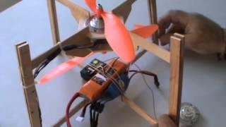 getlinkyoutube.com-Arahal  Artilugio volador con motores brushless sacados de dos discos duros  Ramos