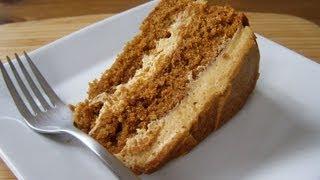 getlinkyoutube.com-Pastel de café | Cómo hacer un pastel | Receta para hacer panqué casero