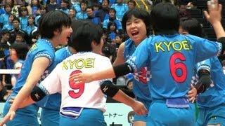 Volleyball 共栄学園 × 県岐阜商 1st 春高バレー2013-106