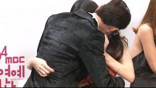 getlinkyoutube.com-[SSTV] 홍종현-유라, 깜짝 키스! '우결' 커플들의 과감한 애정행각(?)