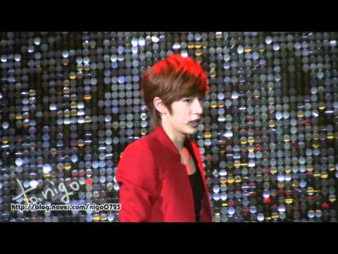 [nigo]2012.03.15 BOYFRIEND 1st Date With You in Taiwan - I'll be there - Minwoo Focus