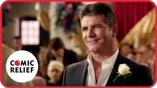 getlinkyoutube.com-Simon Cowell's Wedding   Comic Relief