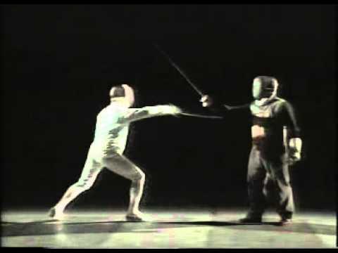 Lezioni di scherma - Antonio Di Ciolo con Alessandro Puccini 1996
