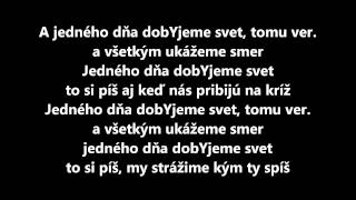 getlinkyoutube.com-Majk Spirit dobYjeme svet (text)