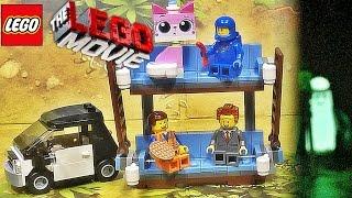 getlinkyoutube.com-레고 무비 더블 데커 소파 70818 조립 리뷰 LEGO MOVIE Double Decker Couch