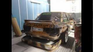 getlinkyoutube.com-Lifting Project E30 V8 Drift- DriftGalicia