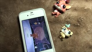 getlinkyoutube.com-Littlest Pet Shop SCANNING A LPS PET lps your world app FREE