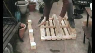 getlinkyoutube.com-How To Dismantle A Wooden Pallet