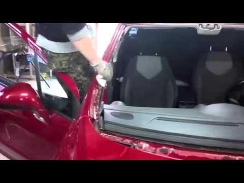 Peugeot 308 замена стекла