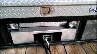 getlinkyoutube.com-Utility Trailer With Custom Winch Mount & Lighting