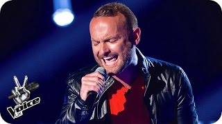 getlinkyoutube.com-Kevin Simm performs 'Chandelier' - The Voice UK 2016: Blind Auditions 4