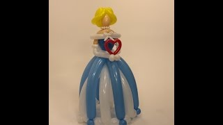 getlinkyoutube.com-How To Make A Giant Princess From Balloons