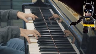 The Lego Batman Movie - Theme Song (Piano Cover) width=