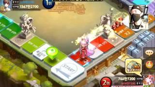 getlinkyoutube.com-New card 늑대소녀 치히로!(Wolf girl Chihiro) In game과 뽀쪽이의 Review![모두의 마블][Let's Get Rich]