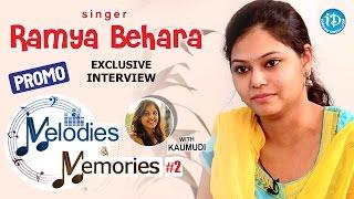 getlinkyoutube.com-Singer Ramya Behara Exclusive Interview - PROMO    Memories & Melodies #2