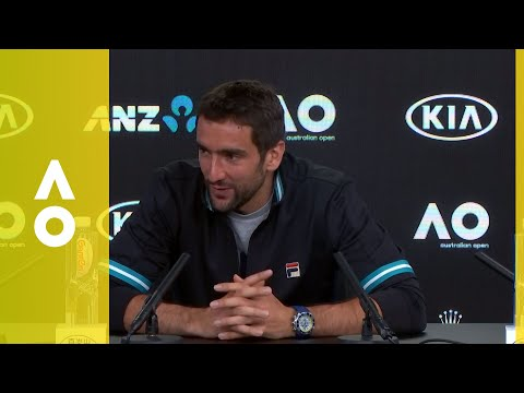 Marin Čilić press conference (F) | Australian Open 2018