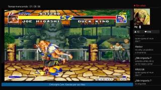 Jugando Fatal Fury Real Bout