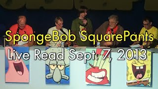 getlinkyoutube.com-Spongebob SquarePants Live Read Sept. 7, 2013