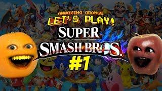 getlinkyoutube.com-Super Smash Bros. #1: AO vs MA - FARTY PARTY!