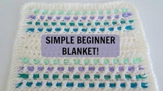 getlinkyoutube.com-Simple Blanket Pattern for Beginners