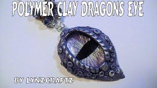 Polymer Clay Dragon's Eye tutorial