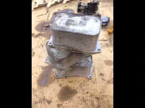 Масляный радиатор Мерседес W221 W166 E212 M278 om278