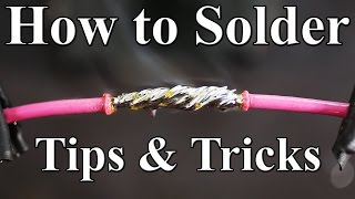 getlinkyoutube.com-How to Solder Wires Together (Best tips and tricks)