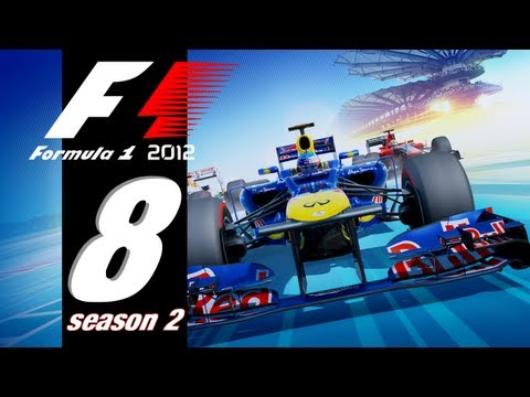 Let's Play F1 2012 with Kurt - S2 EP08 - Much Better!