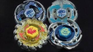 getlinkyoutube.com-Quadruple Battle Poison Virgo ED145ES et Aquario 105F VS Grand Ketos (Bleu et Blanc)! EPIC
