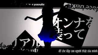 getlinkyoutube.com-[KITI Sub] Facebook Indulging Girl (Kaobon Tandeki Gaaru - 顔本耽溺ガール) - GUMI (Vocaloid Vietsub)