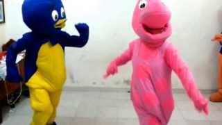 getlinkyoutube.com-Five Kids Shows Infantiles - Backyardigans (ENSAYO)
