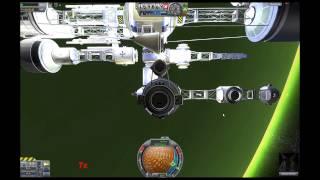getlinkyoutube.com-KSP - Single Launch Space Station Constructed In Orbit Over Jool
