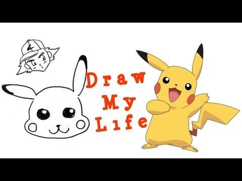 Draw my life: Pikachu