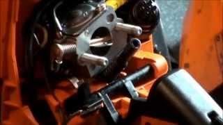 getlinkyoutube.com-Stihl Chainsaw Fuel Line Repair