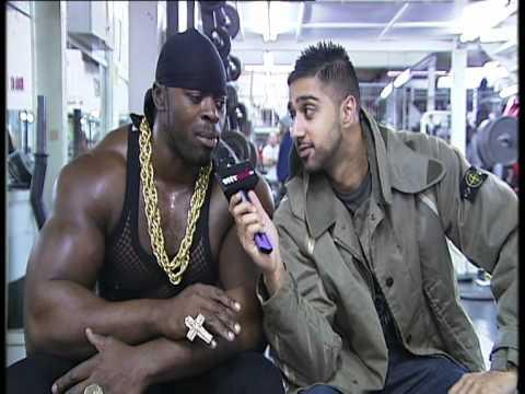 SHIZZIO BRIT ASIA TV SAGAS - Tiny Iron (Britain's Biggest Biceps) Part 1 of 2