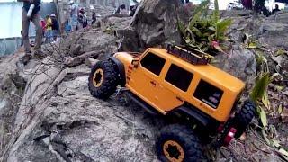 getlinkyoutube.com-Axial RC Scale Crawl Fest Yauco DAM 2