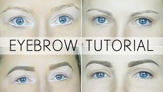getlinkyoutube.com-ABH Eyebrow Tutorial - Taupe and Blonde