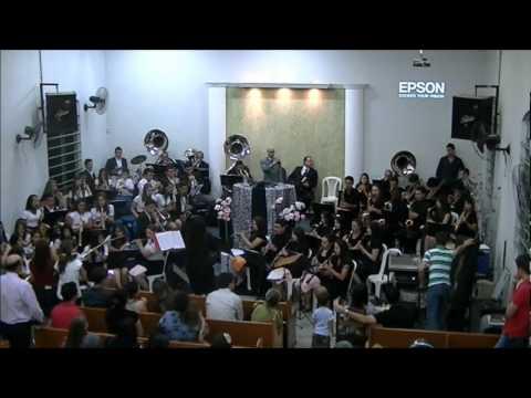 Dois Corações (dobrado)com as Bandas Musicais Agnus Dei (Laguna-SC) e Lira Divina (Joinville-SC)