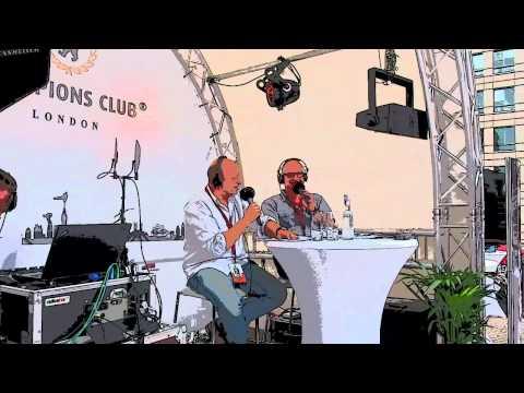 radioeins live aus London 2012 Start 1.Tag mit Robi und Volli