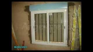 getlinkyoutube.com-Colocación de ventana de aluminio.