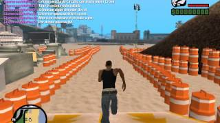 getlinkyoutube.com-GTA San Andreas: Circuito de Motos.