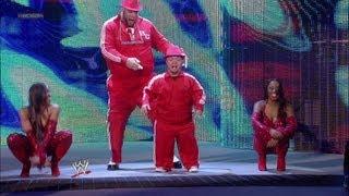 getlinkyoutube.com-Brodus Clay & Hornswoggle vs. Hunico & Camacho: SmackDown - April 20, 2012