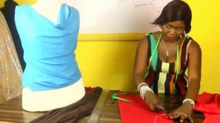 getlinkyoutube.com-HOW TO CUT A COWL NECK BLOUSE