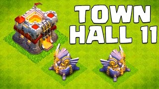 getlinkyoutube.com-Clash of Clans Town Hall 11 Update (& 2015 Update Ideas!)